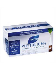 Phyto Phytolium 4 Traitement Anti Chute Stimulateur de Croissance Homme 12 X 3.5ml