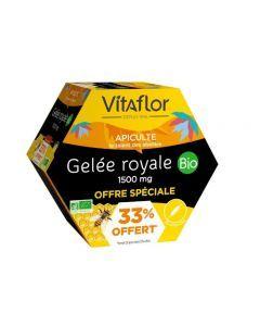 Vitaflor Gelée Royale Bio 1500mg +33% Offert