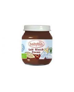 Babybio Lait Biscuit Cacao 130g