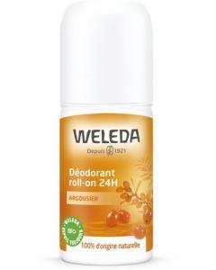 Weleda Déodorant Mixte Roll-On 24h à l'Argousier 50ml
