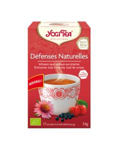 Yogi Tea Défenses Naturelles 17 Infusions